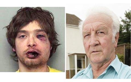 burglar meets retired boxer