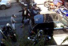 Biker Gang Assault