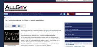 FBI, 77 million Americans, Criminal Database