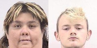 Jeremy Lewallen, Carrie Carley , Colorado Springs, theft, Christmas decorations